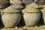 Thumbnail Amphorae for the storage of the traditional Vietnamese fish sauce Nuoc Mam, Mui Ne, Vietnam, Asia