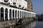 Thumbnail Alster arcades in spring sunshine, Hamburg, Germany, Europe