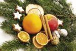 Thumbnail Christmas decoration on a fir tree branch