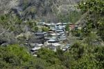 Thumbnail View of the village of Jagat, Annapurna Region, Nepal, Asia