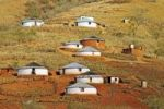 Thumbnail Traditional round huts or rondavels of the Zulu people in in Lalani Valley, Kwazulu-Natal, South Africa