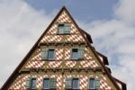 Thumbnail Gable, windows in Facade facing the Muensterplatz Square in Ulm, Baden-Wuerttemberg, Germany, Europe
