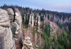 Thumbnail Rockies in Broumovske steny, Broumovsko protected landscape area, Nachod district, East Bohemia, Czech Republic, Europe