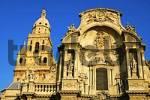 Thumbnail Main fassade Baroquial cathedral Murcia Spain