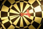 Thumbnail Bullseye score, dart on dartboard