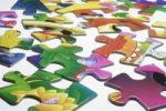 Thumbnail Pieces of jigsaw puzzles