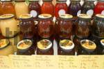 Thumbnail Majorca, Cala Rajada, farmers market, several kinds of honey