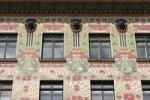 Thumbnail Majolikahaus, art nouveau house on Linke Weinzeil, Vienna, Austria, Europe