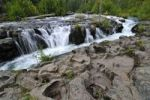 Thumbnail Waterfall on lava rock, Crater Lake National Park, Oregon, USA, North America