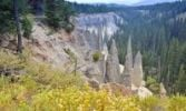Thumbnail The Pinnacles, tourist attraction of Crater Lake National Park, Oregon, USA, Nordamerika