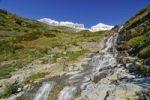 Thumbnail Waterfall at Logan Pass, main attraction of Glacier National Park, Montana, USA, North America