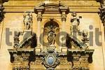 Thumbnail Detail of the upper part of the portal Cathedral San Giovanni Ragusa Italy