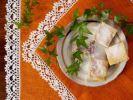 Thumbnail Custard cream cakes on ivy draped plate