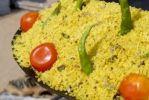 Thumbnail Rice, green chillis and tomatoes, Ram Devra pilgrim festival, Ramdevra, Pokhran, Rajasthan, North India, Asia