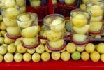 Thumbnail Stall with lemon water, Ram Devra pilgrim festival, Ramdevra, Pokhran, Rajasthan, North India, Asia