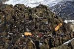 Thumbnail flotsam and jetsam at rock , Fuerteventura , Canary Islands