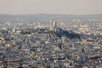 Thumbnail Stadtansicht mit Kirche Sacre Coeur, Montmartre / Paris, Île-de-France, Frankreich, Europa