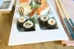 Thumbnail Sushi on a plate