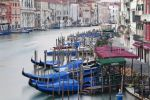 Thumbnail Grand Canal, Canal Grande, with boats in the morning / Venedig, Venezien, Italy, Europe
