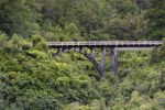 Thumbnail Railway bridge in the jungleCharleston, West Coast Region, New Zealand, Australia and Oceania