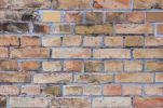 Thumbnail Backsteinmauer im Osthafen, Detail, Frankfurt am Main, Hessen, Deutschland, Europa, OeffentlicherGrund