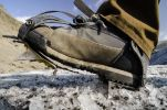 Thumbnail Hiking boots with crampons, hike, Svinafellsjoekull glacier tongue, Skaftafell National Park, Austurland, eastern Iceland, Iceland, Europe