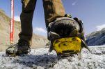 Thumbnail Hiking boots with crampons, hike, Svinafellsjoekull glacier tongue, Skaftafell National Park, Austurland, eastern Iceland, Iceland, Europe