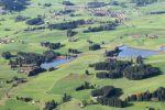 Thumbnail Aerial view, Seenland lake district, Allgaeu, Germany, Europe