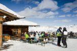 Thumbnail Ski lodge and restaurant at a ski resort / Silvretta, Montafon, Vorarlberg, Austria, Europe