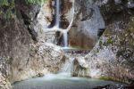 Thumbnail Waterfall in Heckenbachklamm gorge / near Kochel, Bavaria, Germany, Europe