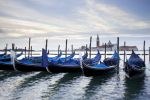 Thumbnail Gondolas and San Giorgio Maggiore at back, from St. Mark's Square / Venedig, Venezien, Italy, Europe