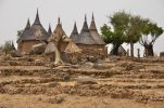Thumbnail Village with typically thatched rondavels in the Mandara Mountains, Cameroon, Central Africa, Africa