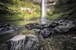 Thumbnail Bridal Veil Falls, Raglan, Waikato, North Island, New Zealand