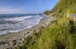 Thumbnail Beach beside the coast road, Hokitika, South Island, New Zealand, Oceania