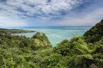 Thumbnail Views over dense vegetation towards the green sea on the West Coast, Irimahuwhero Lookout, Paparoa National Park, South Island, New Zealand, Oceania