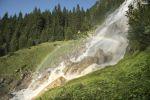 Thumbnail Grawa waterfall, natural monument, Stubai Valley, Tyrol, Austria, Europe