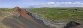 Thumbnail Rau?holar volcano, Hljo?aklettar, Joekulsargljufur National Park, Iceland, Europe