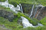Thumbnail Waterfall, Holmatungur, Joekulsargljufur National Park, Iceland, Europe