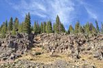 Thumbnail Basalt quarry, Highway 65, Grand Mesa National Forest, Colorado, USA