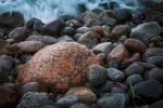 Thumbnail Porphyry rocks on the Baltic Sea beach / Rerik, Mecklenburg-Western Pomerania, Germany, Europe