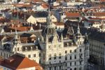 Thumbnail View from Schlossberg, castle hill, to the Town Hall, Graz, Styria, Austria, Europe, PublicGround