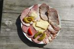 Thumbnail Snack plate, Taferlklause, Salzkammergut region, Upper Austria, Austria, Europe