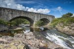Thumbnail Old stone bridge across the Strath Beag River /
