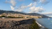 Thumbnail Reclaiming land from the sea, town of Funchal at the rear / Santa Luzia, Funchal, Ilha da Madeira, Portugal, Europe