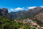 Thumbnail Village of Curral das Freiras in the mountains of Pico dos Barcelos, with its deep ravines / Funchal Pico dos Barcelos, Curral das Freiras, Ilha da Madeira, Portugal, Europe