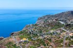 Thumbnail View of Quinta Grande with the motorway on the coast towards Funchal / Funchal Pico dos Barcelos, Quinta Grande, Ilha da Madeira, Portugal, Europe