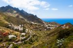 Thumbnail Anaga Mountains and the village of Taganana / Azano, Taganana, Teneriffa, Kanarische Inseln, Spain, Europe