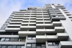 Thumbnail High-rise apartments and office spaces / Bahnhofsplatz, Fürth, Middle Franconia, Bavaria, Germany, Europe