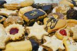Thumbnail Homemade Christmas cookies, Bavaria, Germany, Europe