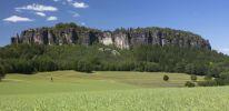 Thumbnail Pfaffenstein low table mountain, Elbe Sandstone Mountains, Saxony, Germany, Europe